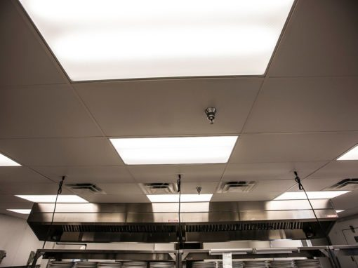 Commercial Kitchen Electrical Upgrades and Lighting Upgrades